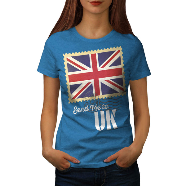 UK Britain Flag Life Womens T-Shirt