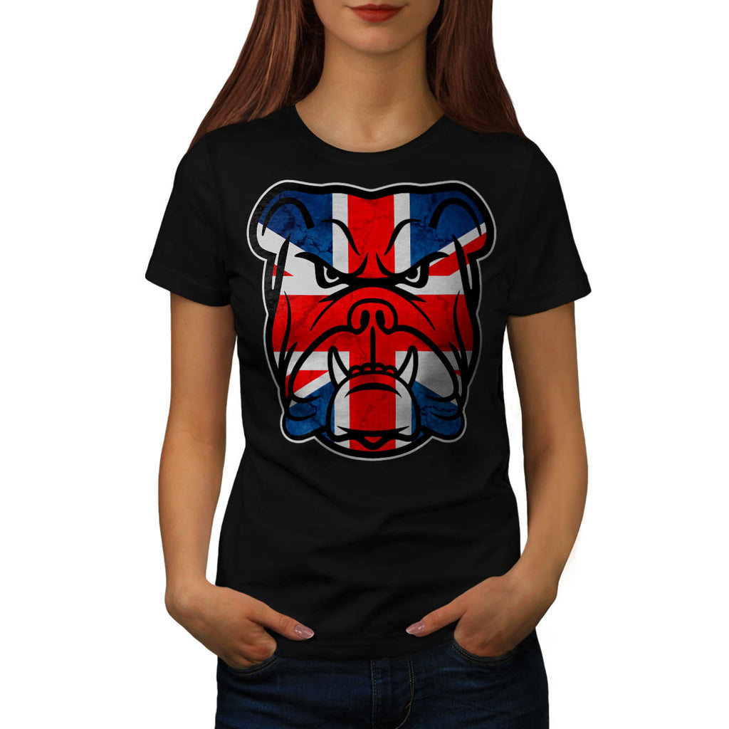 British Bull Dog UK Womens T-Shirt