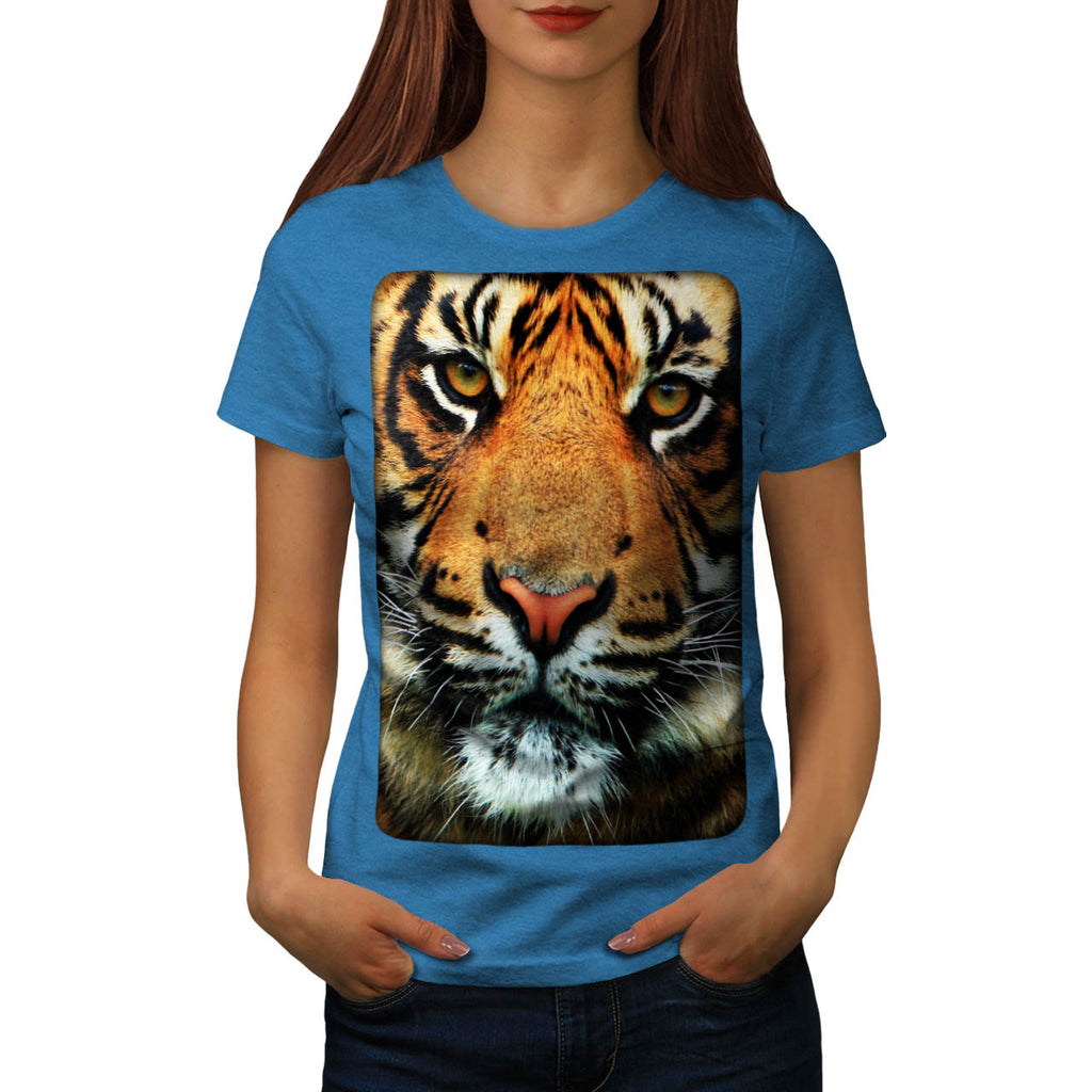 Bengal Tiger Big Cat Womens T-Shirt