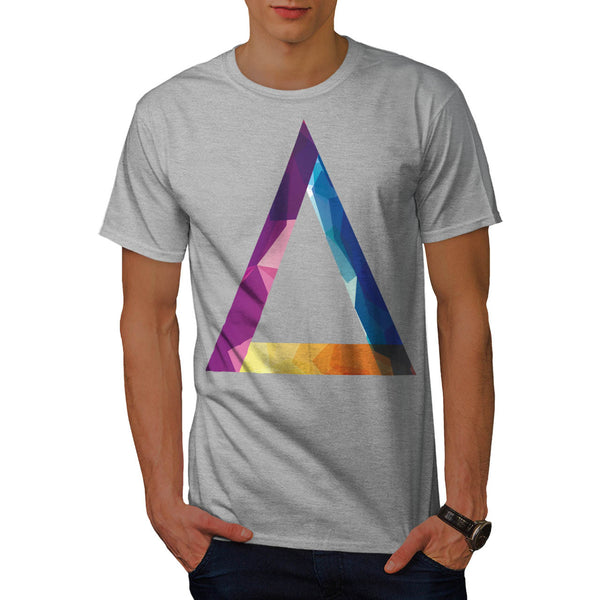 Triangle Summer Vibe Mens T-Shirt