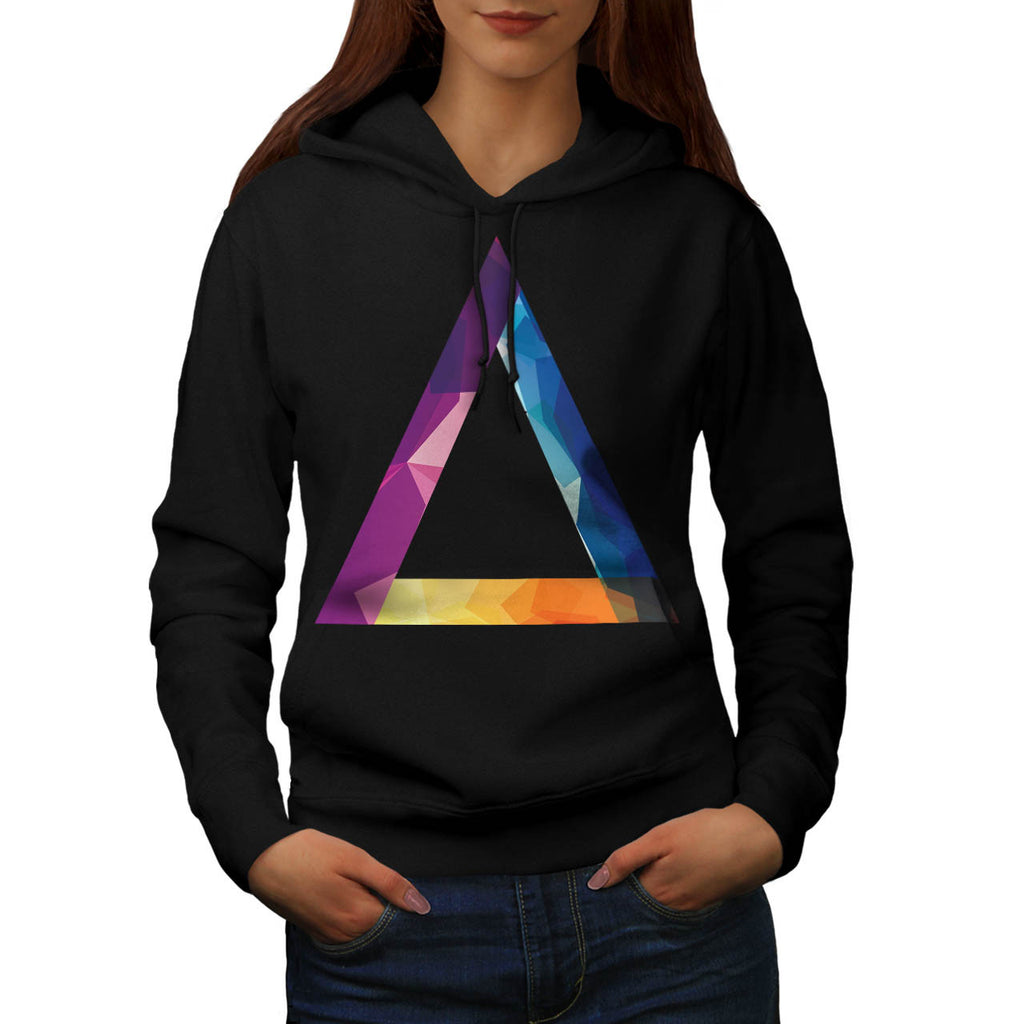 Triangle Summer Vibe Womens Hoodie