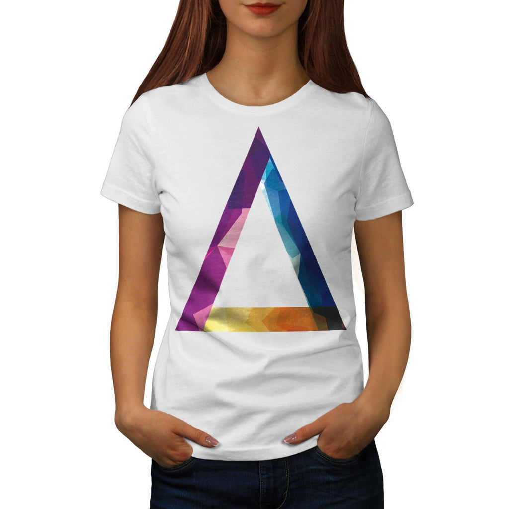Triangle Summer Vibe Womens T-Shirt