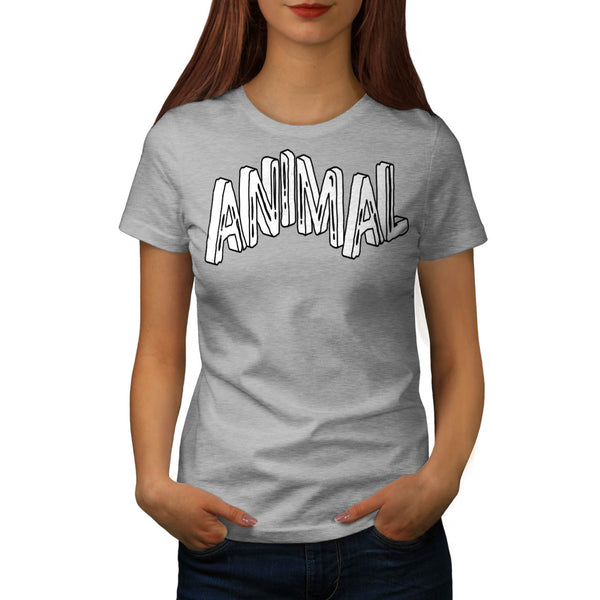 Wild Animal Print Womens T-Shirt
