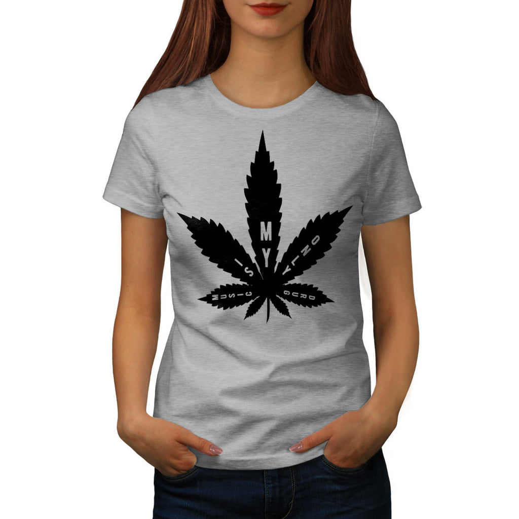 Music Is My Only Drug Womens T-Shirt