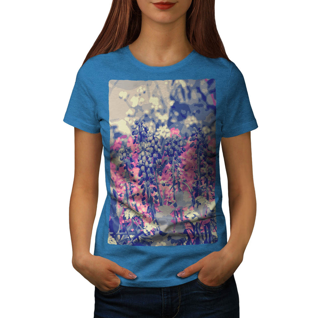Summer Fields Forever Womens T-Shirt