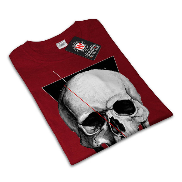 Skull Zombie Indian Womens T-Shirt