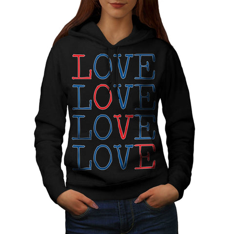 All You Need Is Love Womens Hoodie