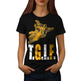 Thank God Its Friday Womens T-Shirt