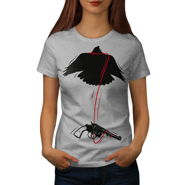 Flying Eagle Pistol Womens T-Shirt