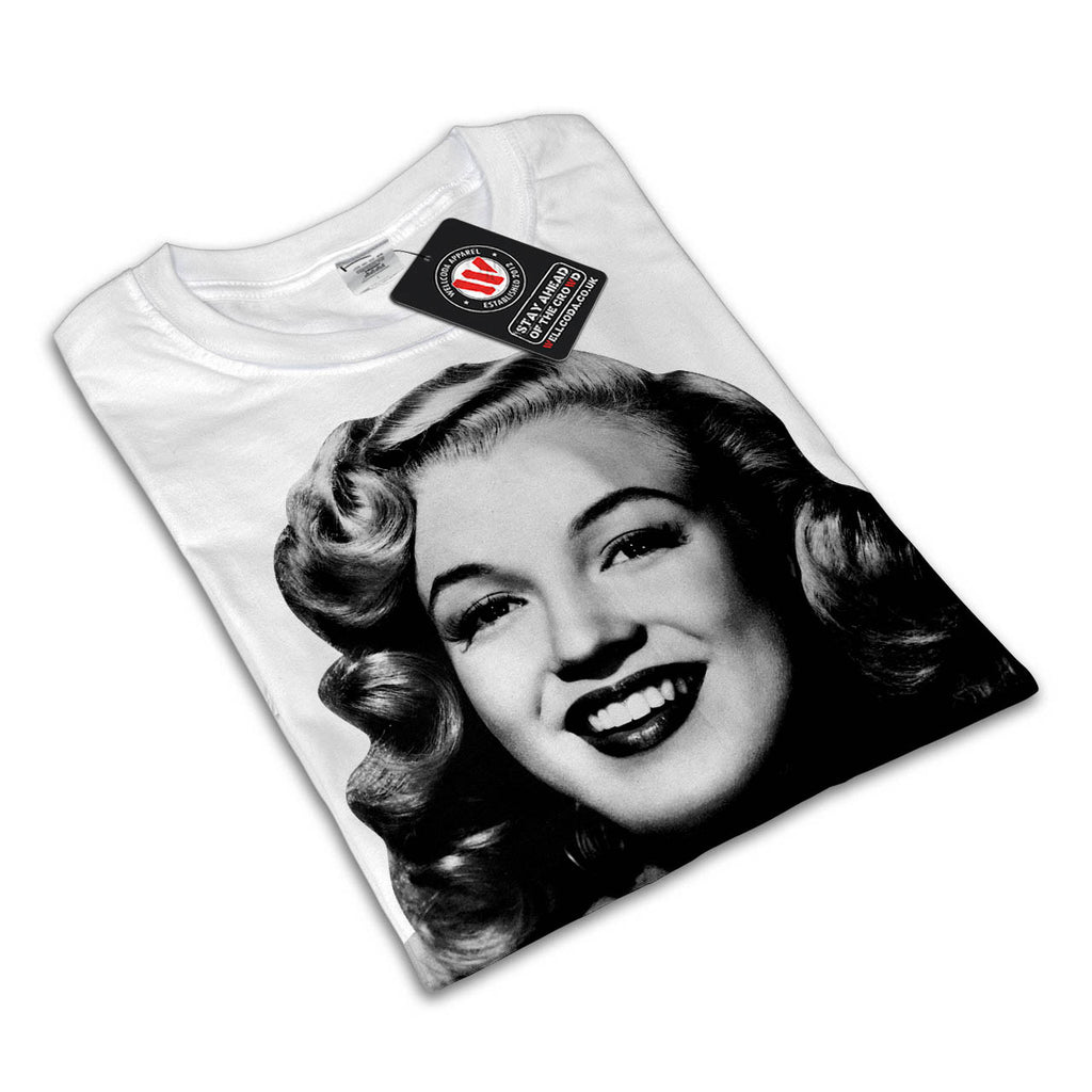 Vintage Pin Up Girl Womens T-Shirt