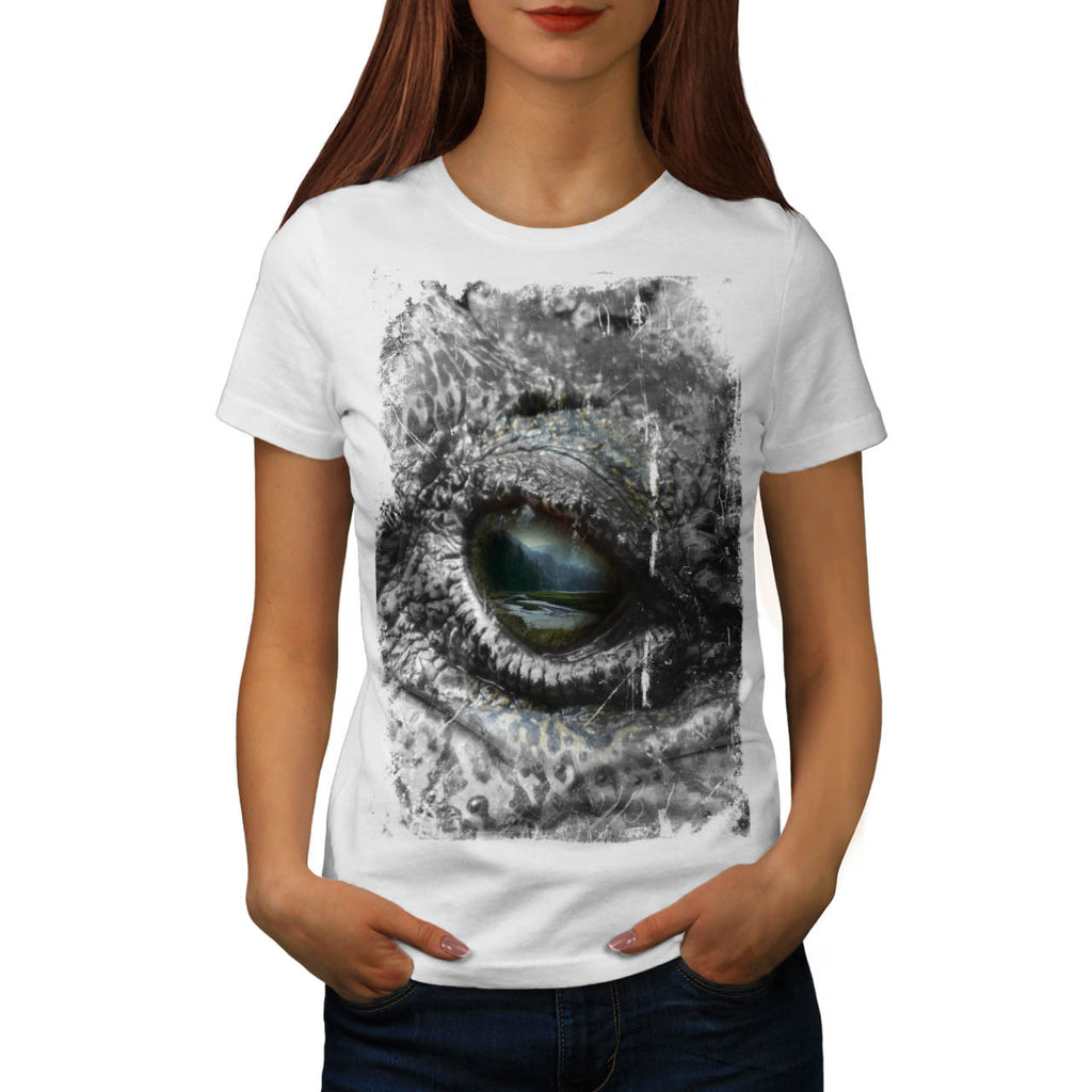 Eye Of The Reptile Womens T-Shirt