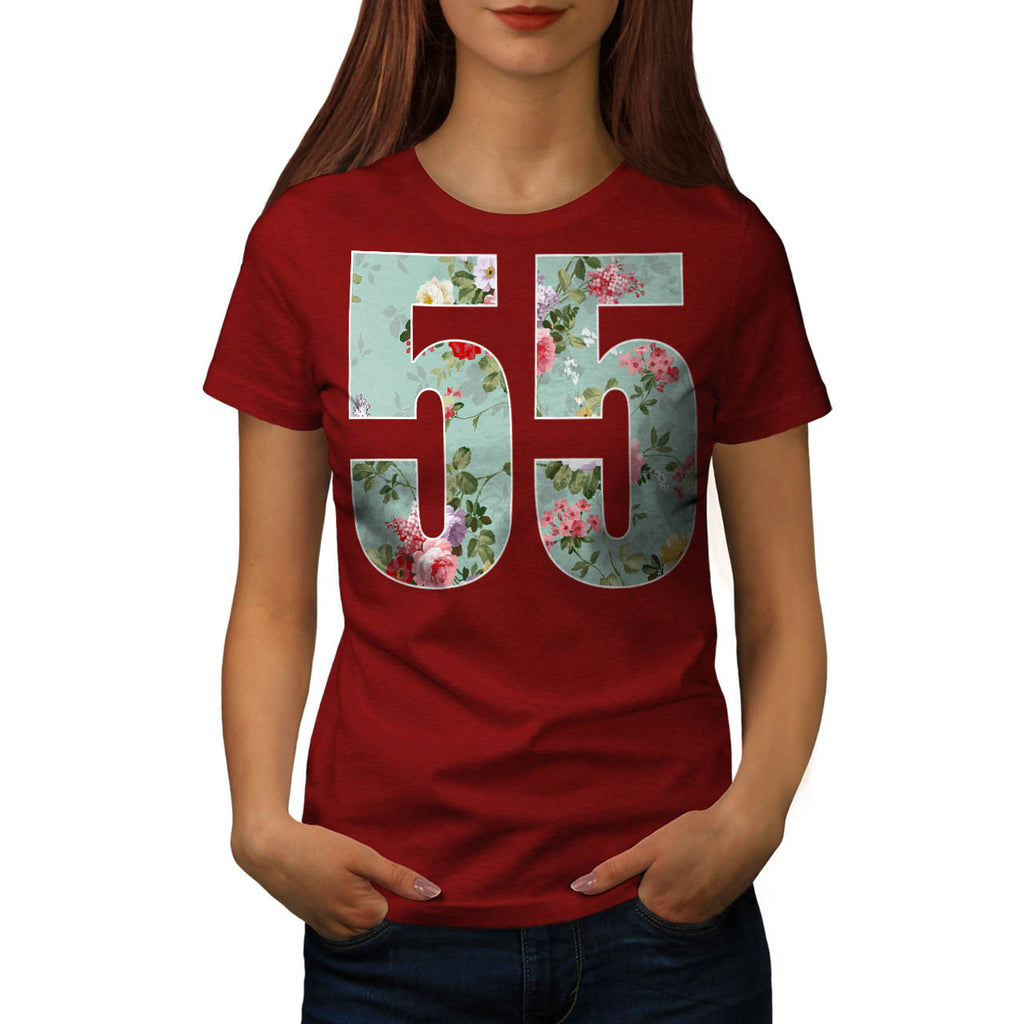 Flower Power 55 Swag Womens T-Shirt