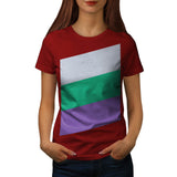 Three Tier Colours Womens T-Shirt