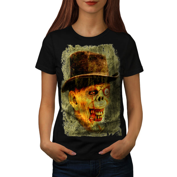 Zombie Dapper Gent Womens T-Shirt