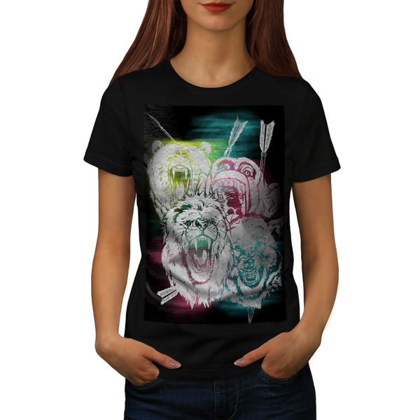 Wild Nature Animals Womens T-Shirt