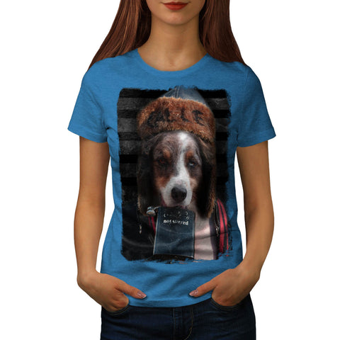 Drinking Country Dog Womens T-Shirt