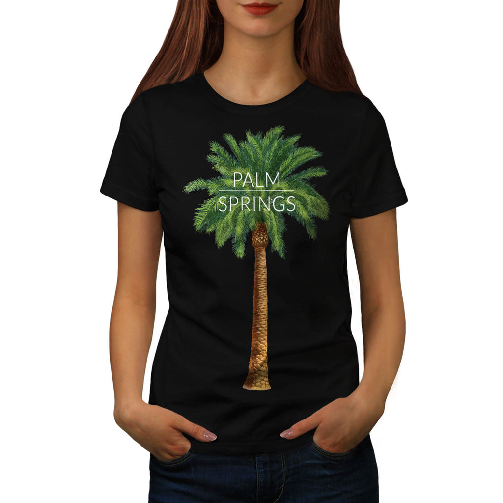 Palm Springs Holiday Womens T-Shirt