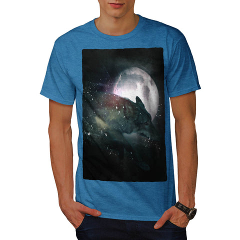 Running Wild Wolf Mens T-Shirt