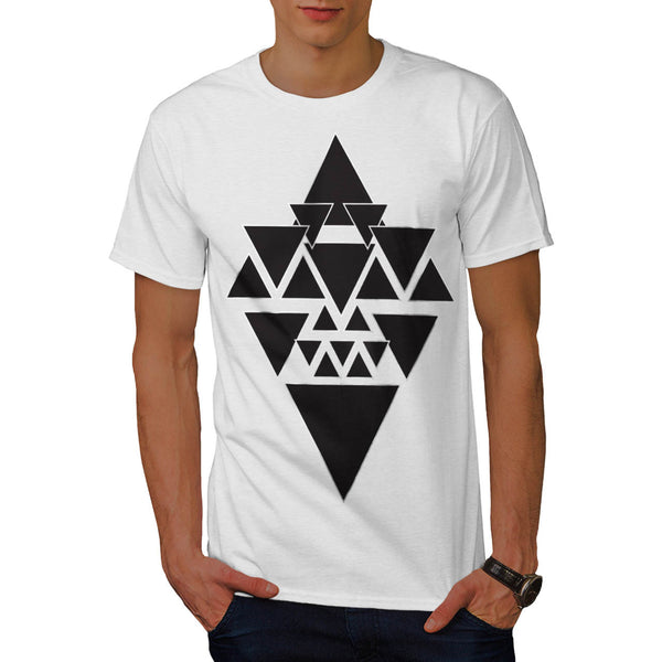 Triangle Star Night Mens T-Shirt