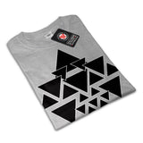 Triangle Star Night Womens T-Shirt