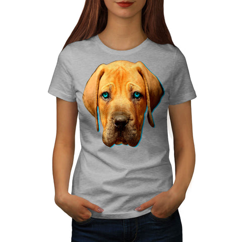 Brown Labrador Dog Womens T-Shirt