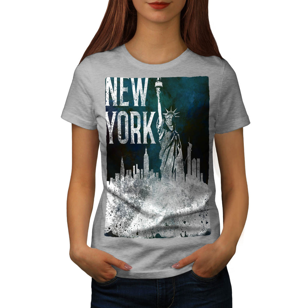 New York City Retro Womens T-Shirt