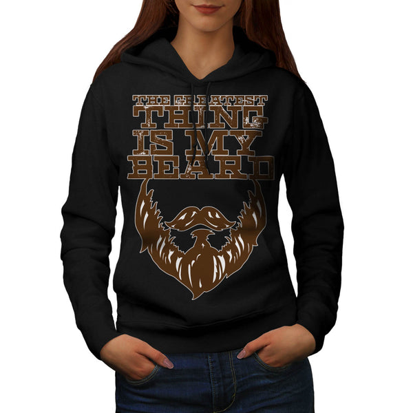Greatest Beard Man Womens Hoodie
