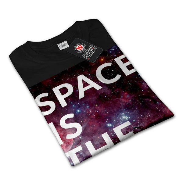 Space Is The Place Fun Mens Long Sleeve T-Shirt