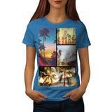 Holiday Summer Fun Womens T-Shirt