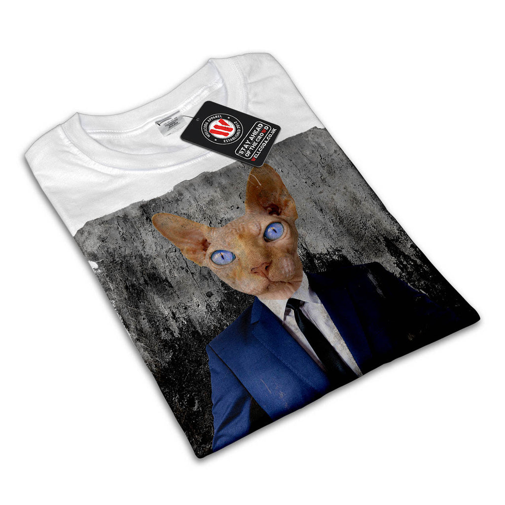 Siamese Cat Business Womens T-Shirt