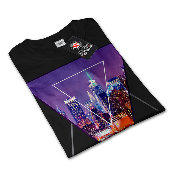 Urban City Soul Life Mens Long Sleeve T-Shirt