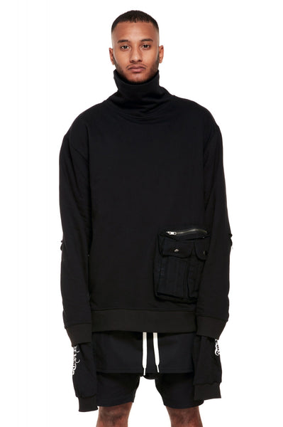 Military Turtle Neck Sweater