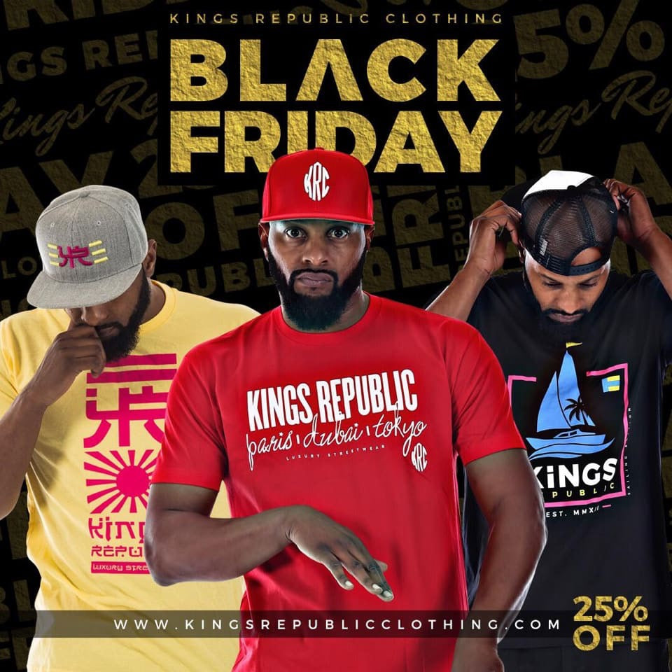 Kings Republic Black Friday Sale
