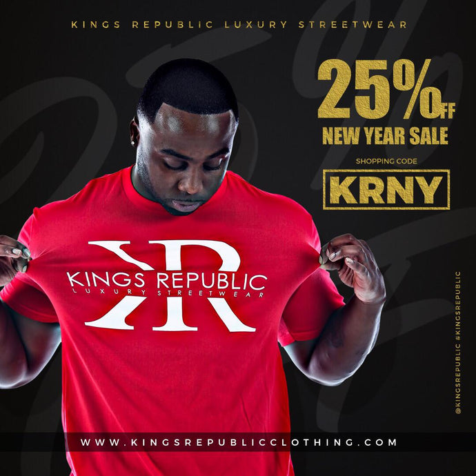 Kings Republic New Year Sale