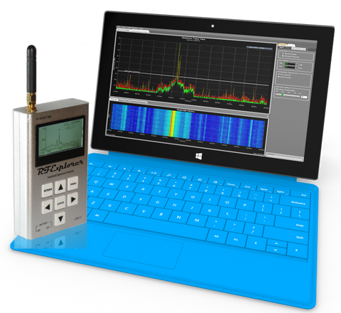 Clear Waves For Windows -- RF Spectrum Analyzer And Frequency Coordination Software For RF Explorer