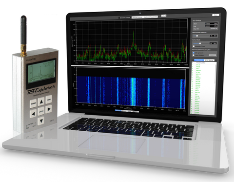 Clear Waves For MacOS -- RF Spectrum Analyzer And Frequency Coordination For RF Explorer -- Bundle #7 (WSUB1G)