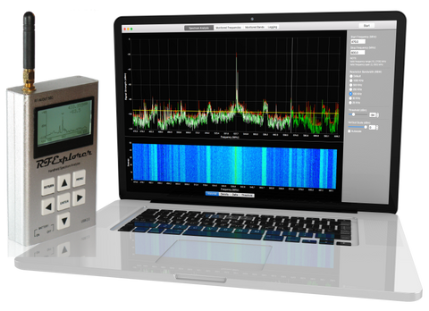 Touchstone Pro (For MacOS) -- RF Spectrum Analyzer And Frequency Coordination -- Bundle #11 (WSUB1G+)