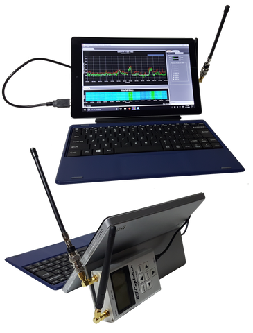 Sidekick For RF Explorer -- Remote Access RF Spectrum Analysis