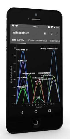 WIFIEXPLORER — 802.11 Network Discovery / WiFi Scanner For The Android Platform