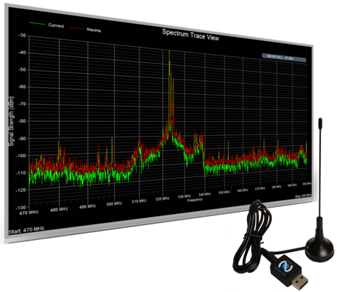 RF Viewer & Clear Waves / RF Spectrum Analyzer And Frequency Coordination