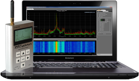 Touchstone Pro (for Windows) -- RF Spectrum Analyzer Software For RF Explorer (Buy Now)
