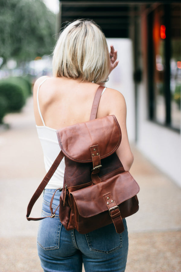 Leather Backpacks for University