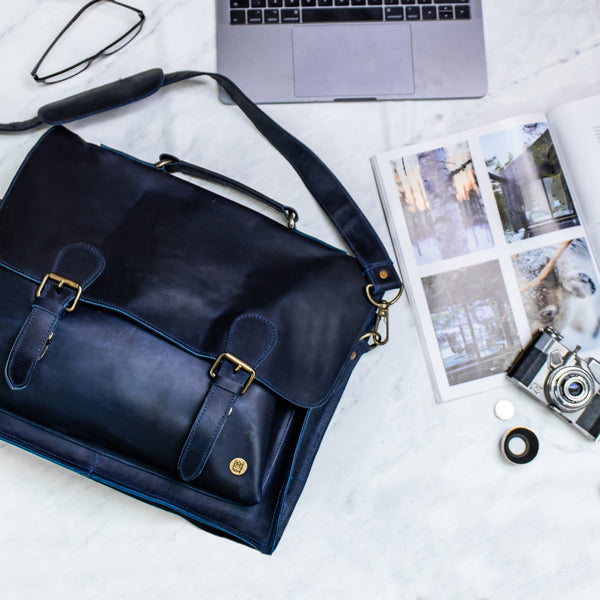 Leather Bags Options For Work: Backpacks, Totes, Satchels & Laptop Cases