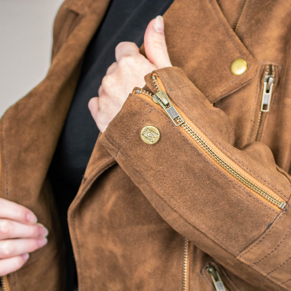 Suede Jacket Care & Maintenance