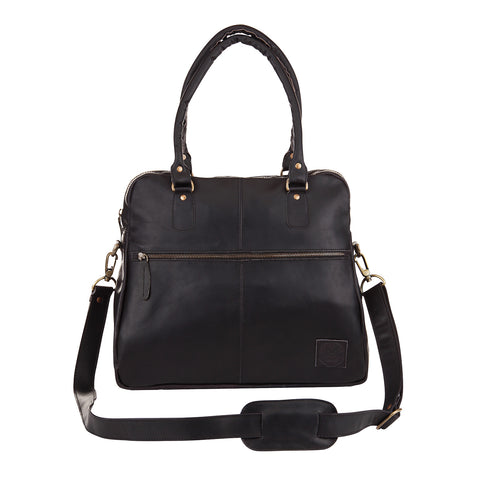 MAHI Athena Tote in Ebony Black