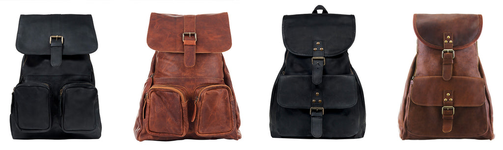 MAHI Leather Backpack Collection