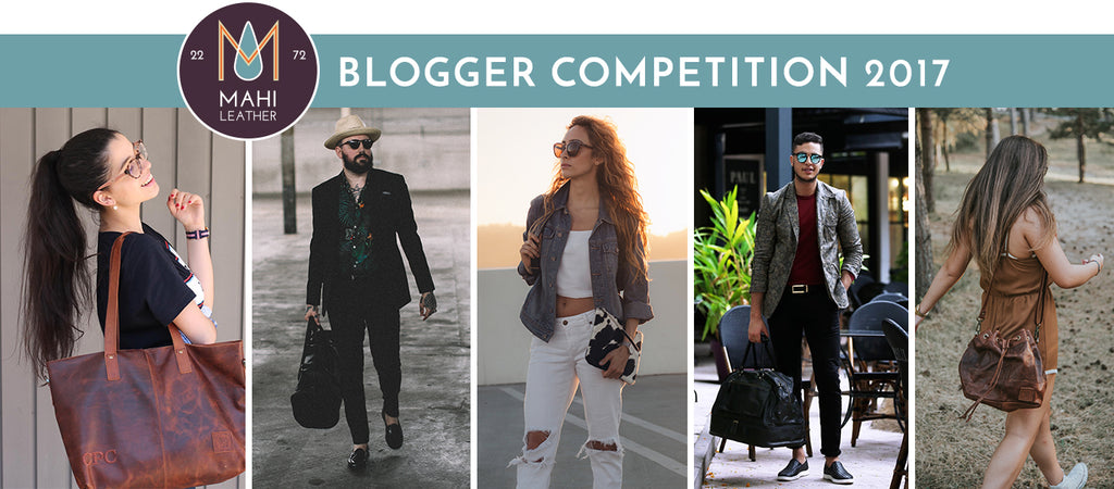 Fashion Bloggers Competition with MAHI Leather 2017