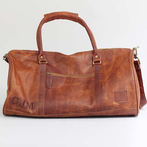 Full grain leather bag