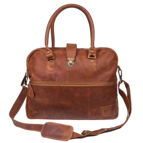 Cornell Buckle Satchel