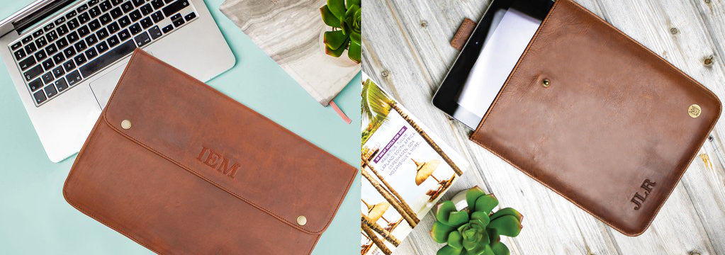 MAHI Leather Laptop & iPad Sleeve